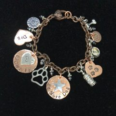 be more dog charm bracelet
