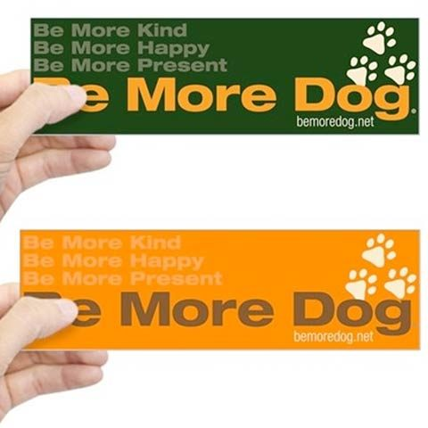 Be More Dog Sticker