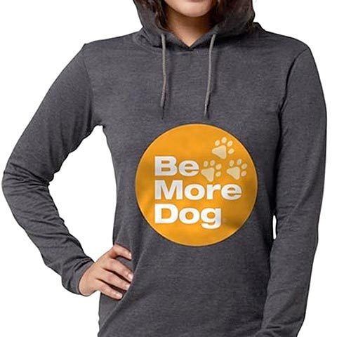 Be More Dog Badge Hoodie