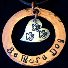 be more dog necklace