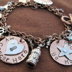 be more dog charm bracelet