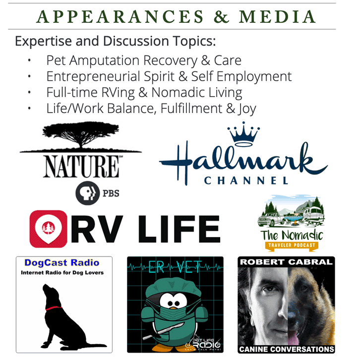 be more dog appearances
