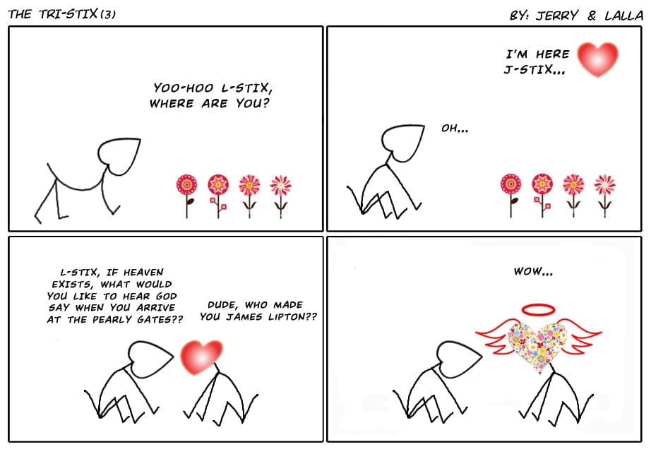 tri-stix cartoon